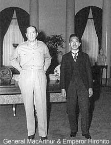 General MacArthur and Emperor Hirohito