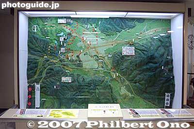Sekigahara Battle Map Explanatory Map of The Battle