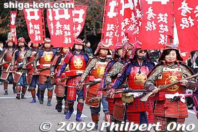 Hikone Castle Festival Parade