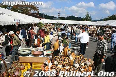 Shigaraki Pottery Festival