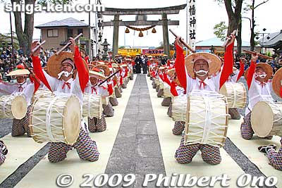 Suijo Hachiman Shrine Taiko Drum Dance