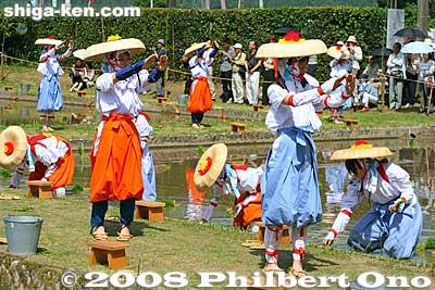 Taga Taisha rice-planting