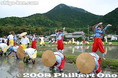 Yasu rice-planting festival