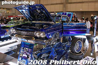Lowrider Car Show Japan Tour Final Show Car With Floor Mirror - Car show display mirrors